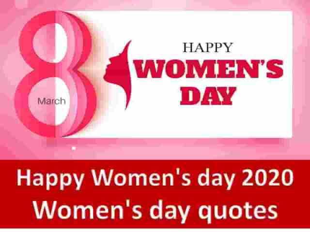 Happy Womens day 2020 - Happy Women's day 2020 || Women's day quotes