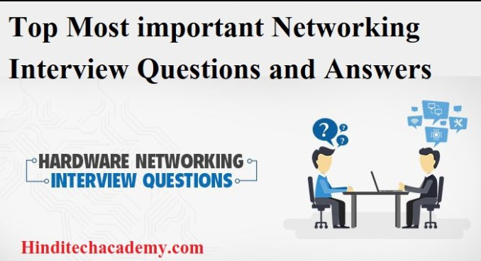 Top Most important and frequently asked basic Networking Interview Questions and Answers
