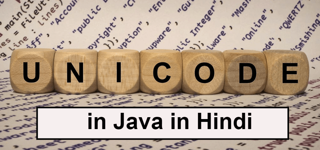 Unicode system in Java hindi