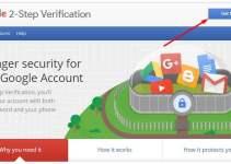 Gmail 2 Step Verification enable