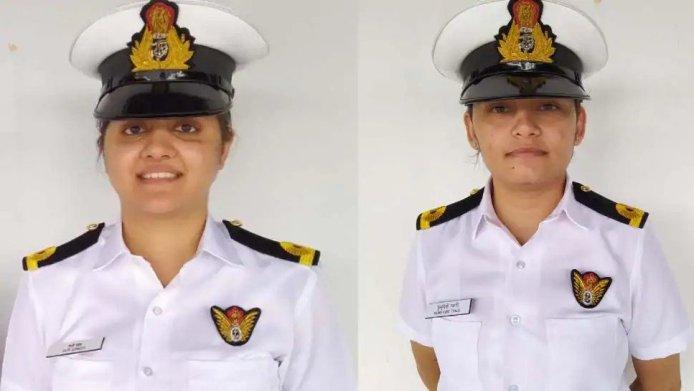 Lady Navy Officer