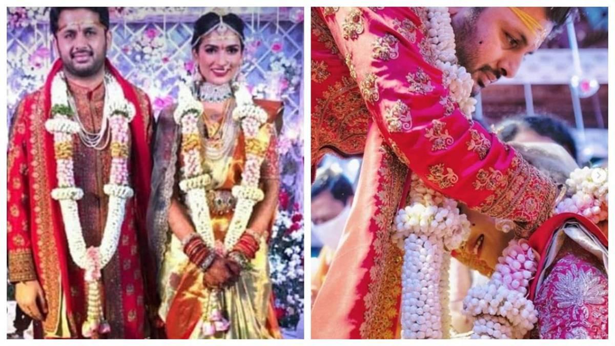 साउथ स्टार नितिन ने कल रात प्राइवेट सेरेमनी में रचाई शाही शादी, देखें वायरल हो रही तस्वीरें