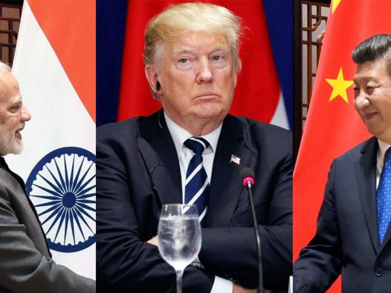 भारत के साथ खड़ा हुआ अमेरिका, चीन के रक्षा उपकरणों के निर्यात पर लगाया बैन