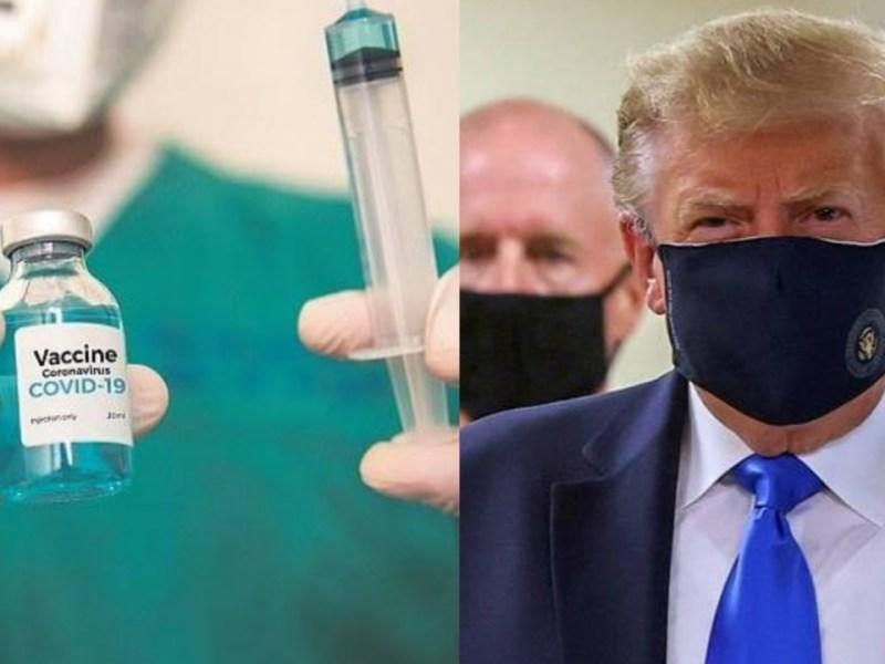 अमेरिकी राष्ट्रपति का बड़ा ऐलान, जल्द आएगी कोरोना की वैक्सीन