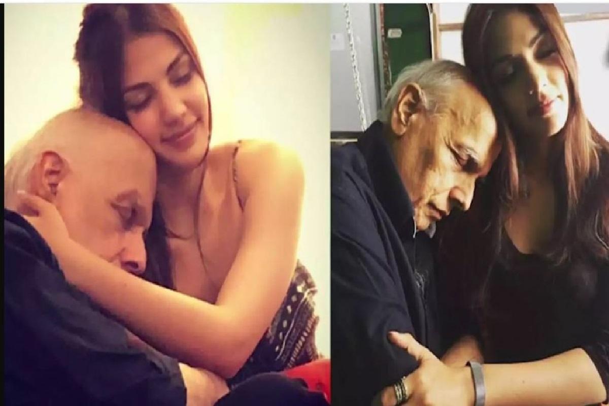 महेश भट्ट के साथ रिया का ये वीडियो हुआ वायरल, एक दूसरे को छेड़ते आए नजर