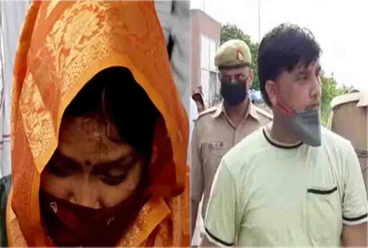 पहली बार सामने आई विकास दुबे के साथी जय बाजपेई की पत्नी, रो-रोकर सुनाया अपना हाल