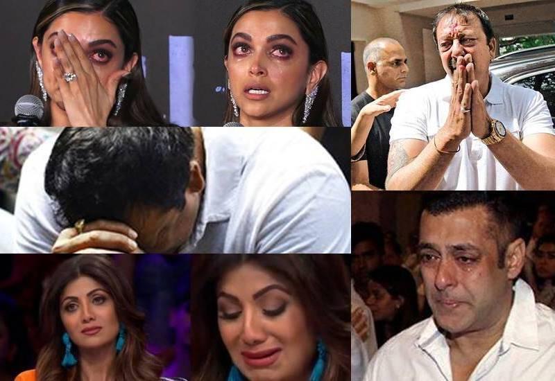 5 मौके जब सबके सामने रो पड़े ये फ़िल्मी सितारें, जाने वजह