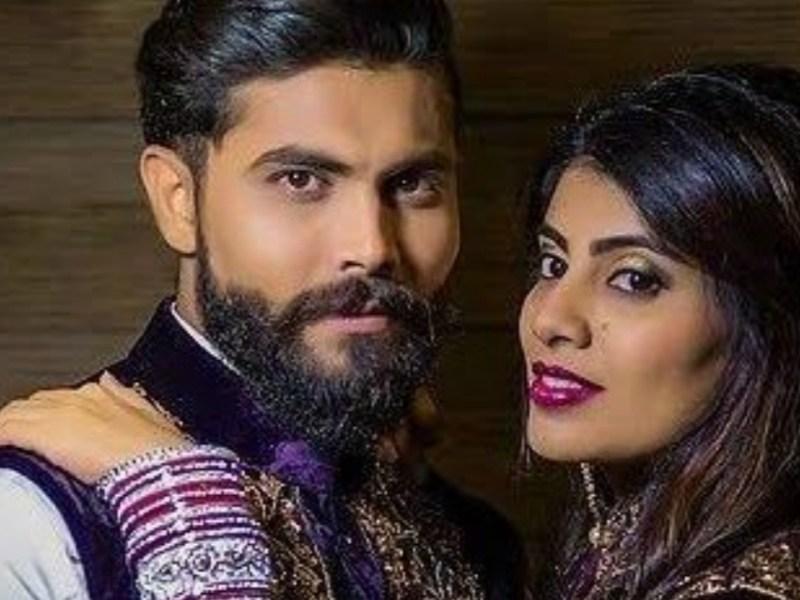 रविंद्र जडेजा की पत्नी ने मास्क के लिए की पुलिस से बहस, अस्पताल में हुई भर्ती