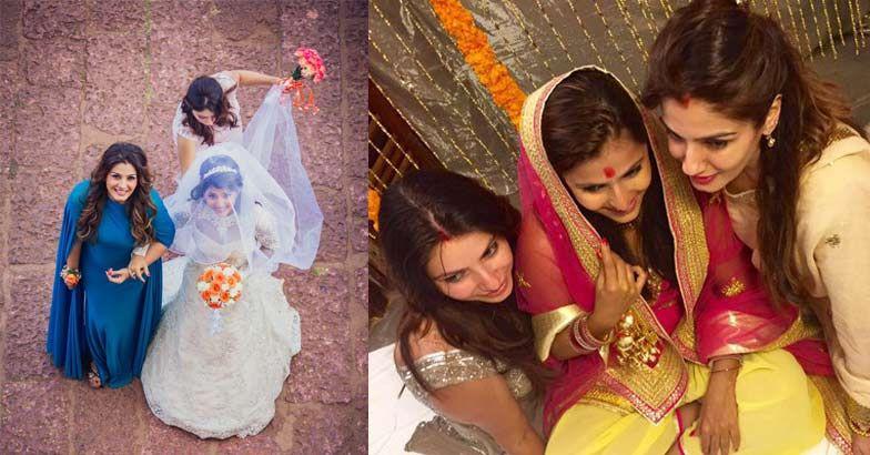 अपनी बेटी की शादी में काफी खूबसूरत दिखी रवीना टंडन, देखें तस्वीरें