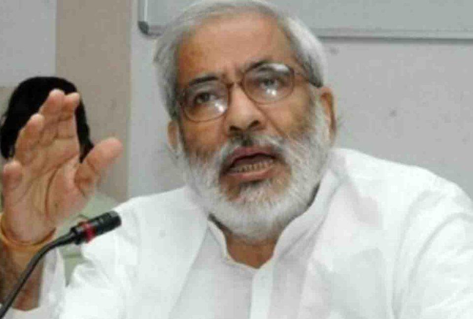 पूर्व केंद्रीय मंत्री रघुवंश प्रसाद सिंह का निधन, रो पड़ा पूरा बिहार