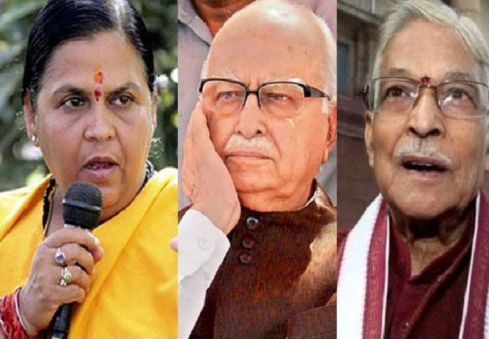 बाबरी मस्जिद मामला: लालकृष्ण आडवाणी सहित 32 आरोपी बरी, केंद्रीय कानून मंत्री रविशंकर प्रसाद ने दीं बधाइयां