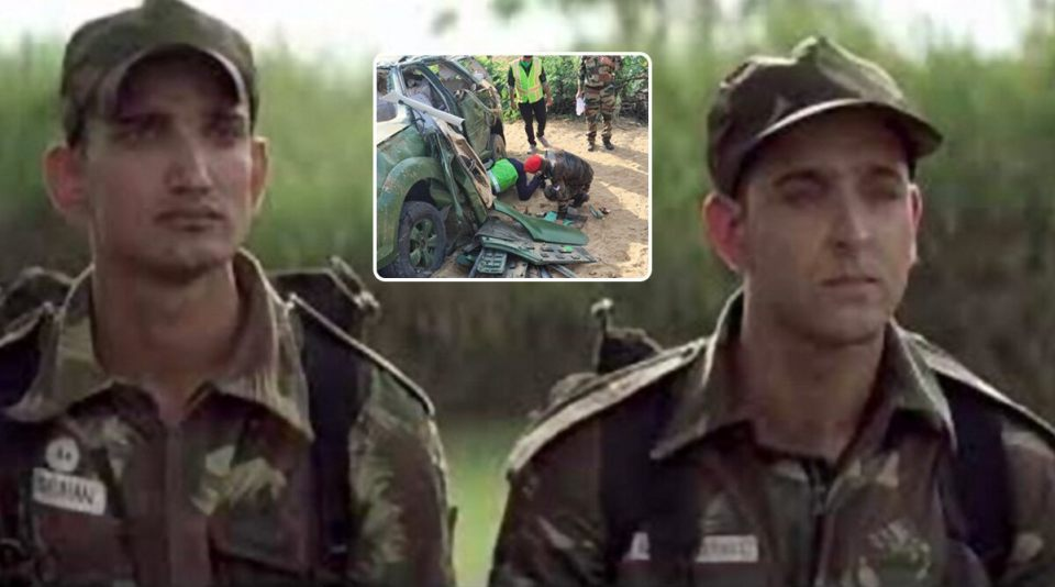 मेजर और कर्नल की सड़क हादसे में दर्दनाक मौत, 2 सैनिक भी हुए घायल