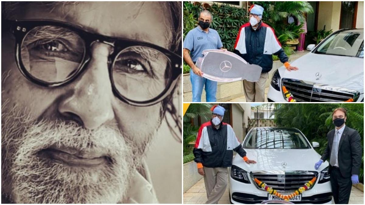 अमिताभ बच्चन ने खरीदी नई लग्जरी कार, कीमत जानकर उड़ जाएंगे होश