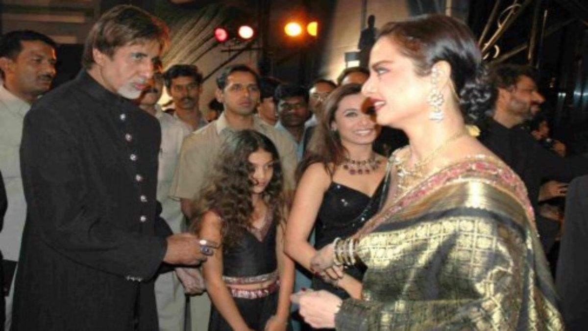 इस शख्स के बंगले पर पत्नी जया बच्चन से छुपकर रेखा से मिलते थे अमिताभ बच्चन