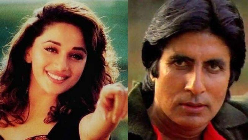 माधुरी दीक्षित ने इस एक्टर की वजह से कभी नहीं की अमिताभ बच्चन के साथ कोई फिल्म