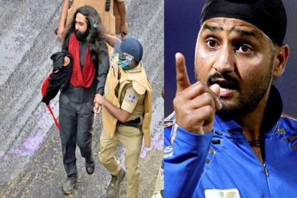 सिख के पगड़ी से अपमान पर भड़के हरभजन सिंह, ममता बनर्जी से कहा