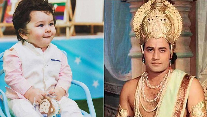 सैफ ने कहा- तैमूर समझता है खुद को श्रीराम, बहुत पसंद करता है रामायण