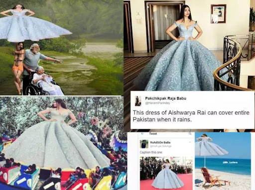 ऐश्वर्या राय की ड्रेस ही बन गयी उनके लिए मुसीबत, करना पड़ा शर्मिंदगी का सामना