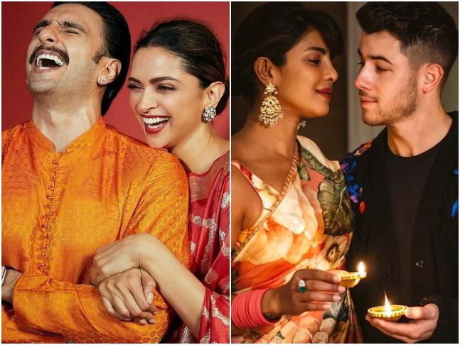 दीपावली पर प्रियंका ने पहनी साड़ी तो लहंगे में दिखी अंकिता लोखंडे, देखें सितारों की दीपोत्सव की खास तस्वीरें