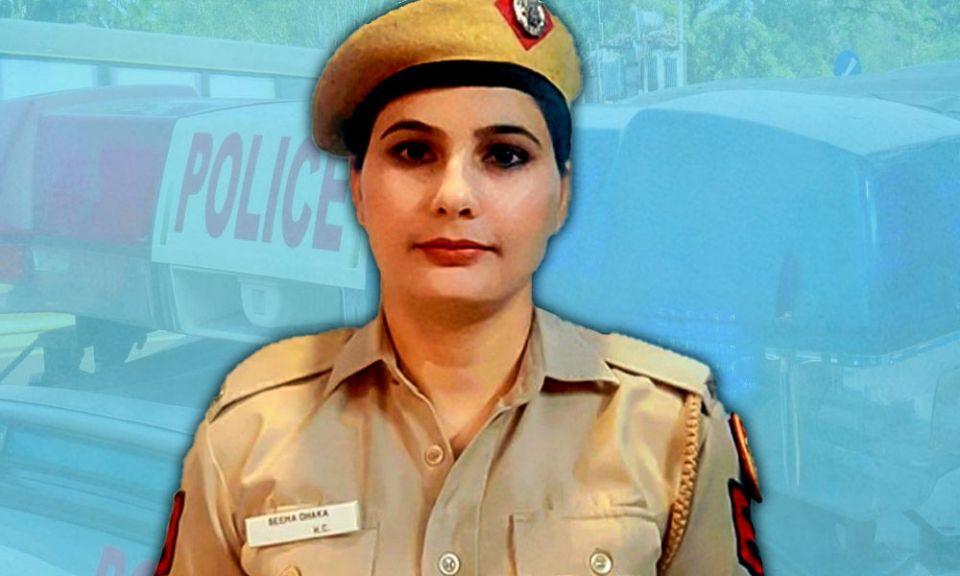 सीमा ढाका ने 76 बच्चों को बचाया, दिल्ली पुलिस ने आउट ऑफ़ टर्न दिया प्रमोशन