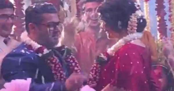 सलमान की शादी कावीडियों हुआ वायरल, इस लड़की को पहनाया वरमाला, जाने सच