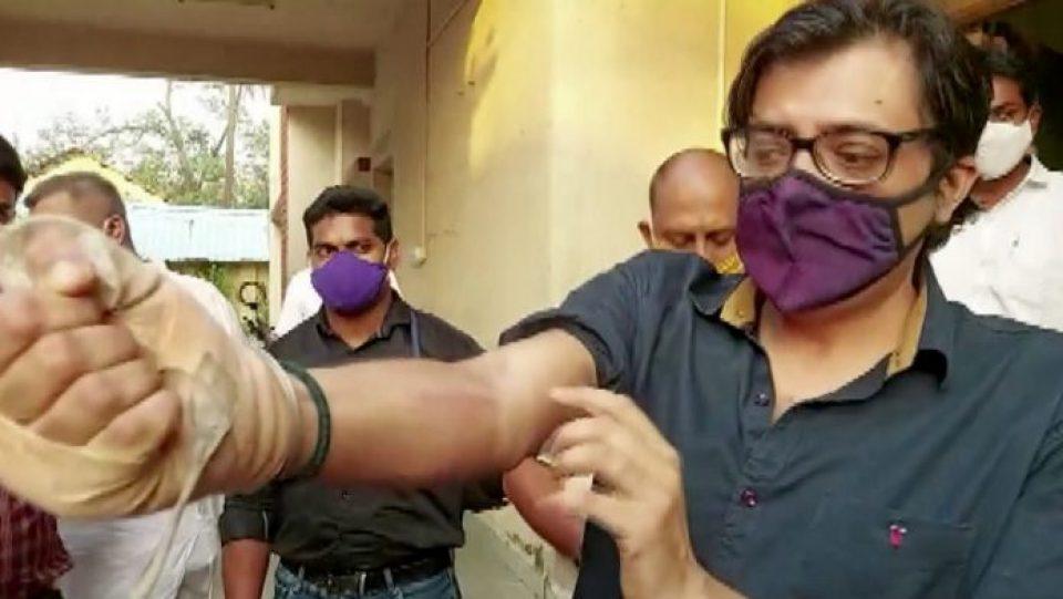 अर्नब गोस्वामी की रिहाई के बाद लाइव टीवी पर मेजर बख्शी ने लगाये भारत माता की जय के नारे
