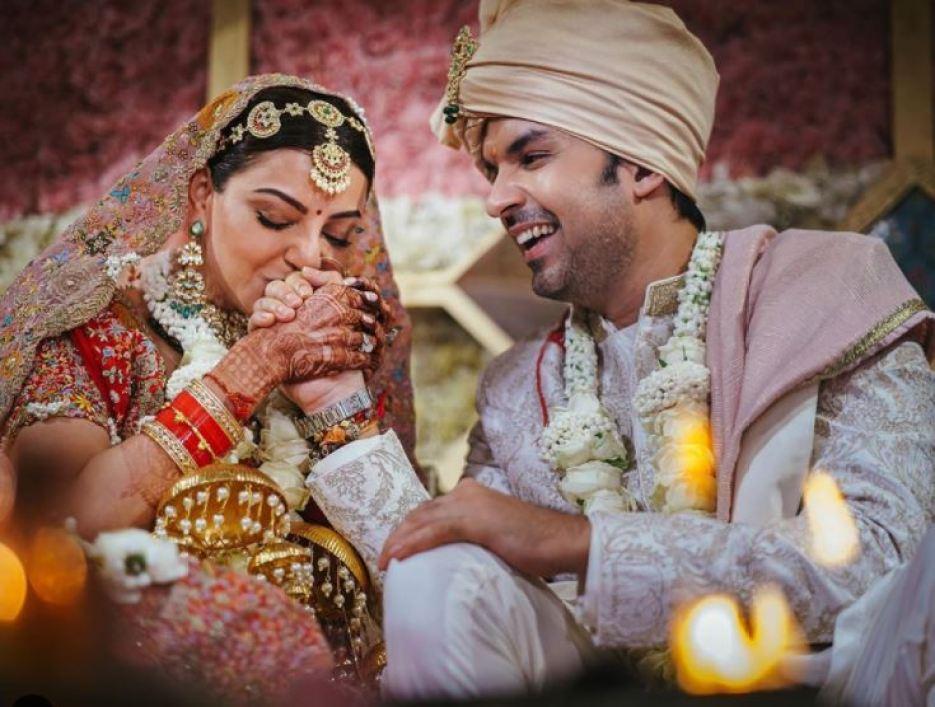 काजल अग्रवाल ने शाही अंदाज में मनाया शादी का रिसेप्शन, देखें तस्वीरें