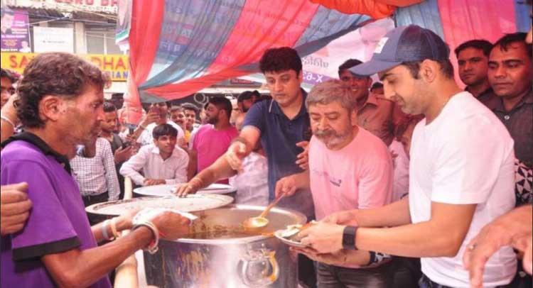 BJP MP Gautam Gambhir will not let the poor to sleep hungry