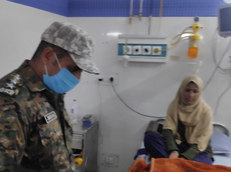 कश्मीर की 19 साल की सईदा को किडनी ट्रांसप्लांट के लिए Crpf के जवानो ने दिया खून