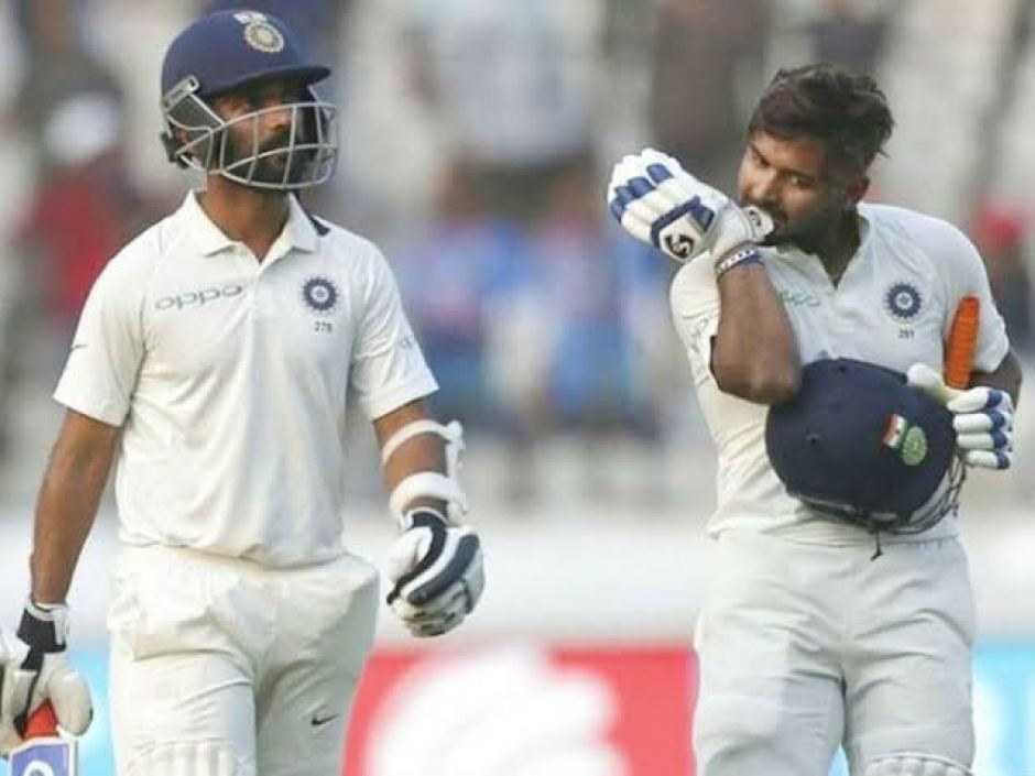 Ausvsind: Rishabh Pant and Matthew Wade clashed during the match