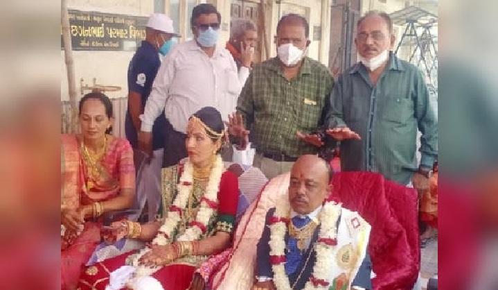 अनोखी शादी: 5.5 फीट की दुल्हन, 3 फीट का दुल्हा, इस वजह से हुई ये शादी
