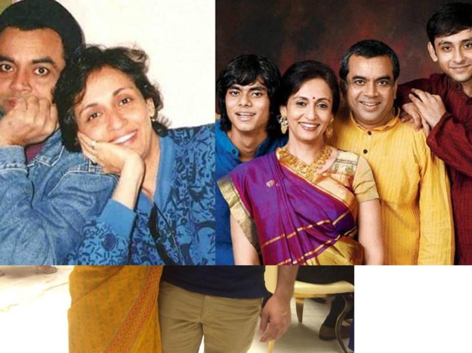 मिस इंडिया रह चुकी हैं परेश रावल की पत्नी, पहली बार देख दोस्त से कही थी ये बात