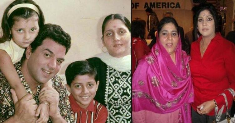 भारत छोड़ लाइमलाइट से दूर इस देश में रहती हैं सनी देओल की दोनों बहनें