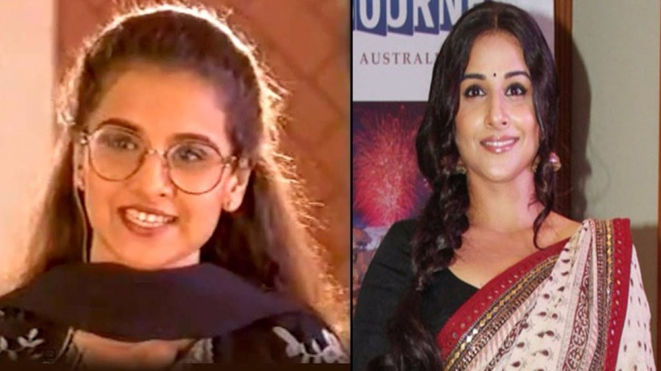 Vidya Balan was once said to be wretched today & quot; Lady Aamir Khan & Quot;