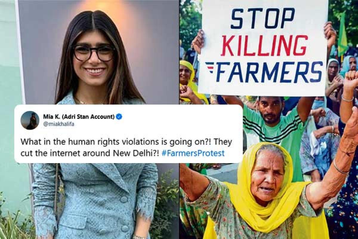 किसान आंदोलन: कंगना रनौत और मिया खलीफा के बीच ट्विटर पर भिड़ंत, एक-दूसरे पर किया पलटवार