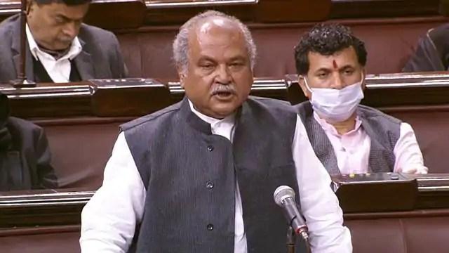 कृषि मंत्री नरेंद्र सिंह तोमर