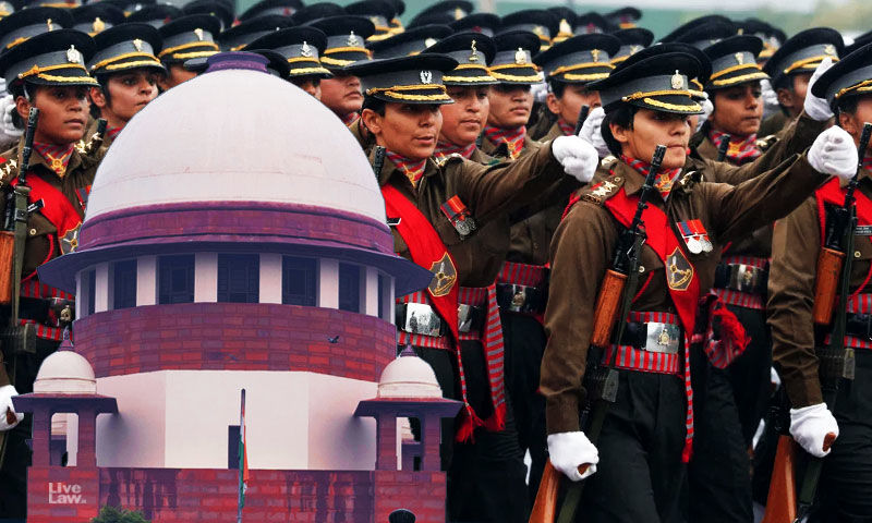 जनवरी 2021 से नहीं मिली है सेना की महिला अफसरों को सैलरी, सुप्रीमकोर्ट ने लगाई सरकार को फटकार