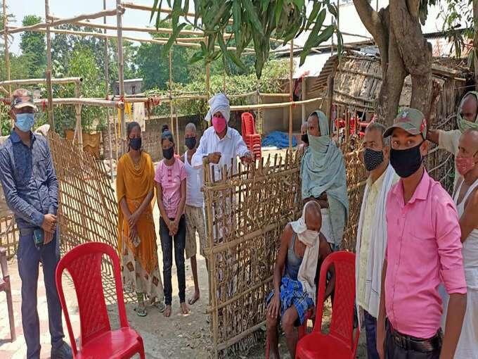 कोरोना से हुई मां-बाप की मौत तो गाँव वालो ने कर लिया किनारा, सरकार ने दिया 4 लाख तो ब्रह्मभोज में खाने पहुंचे 150 लोग