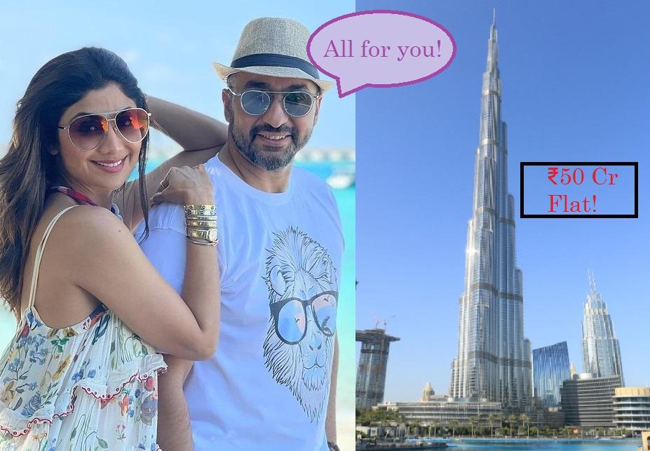 बुर्ज खलीफा में फ्लैट, 3 करोड़ की रिंग, पति राज कुंद्रा से अब तक ये 7 महंगे तोहफे ले चुकी हैं शिल्पा शेट्टी