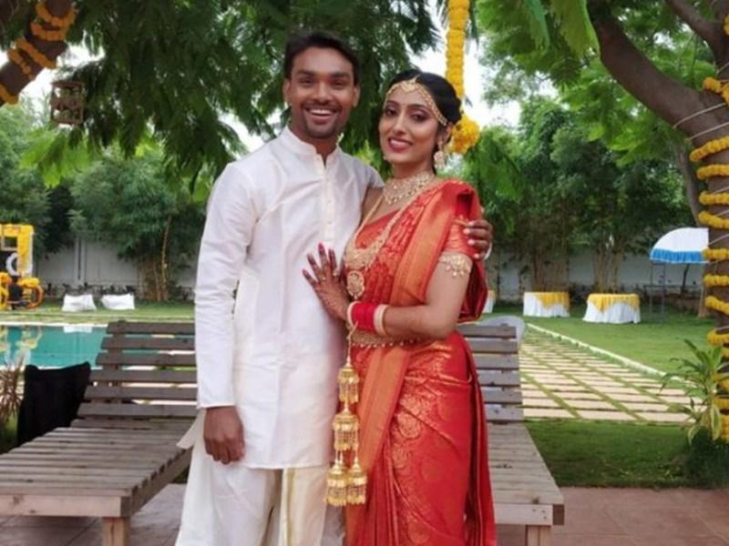 आईपीएल 2021 शुरू होने से पहले संदीप शर्मा ने की शादी, सनराइजर्स हैदराबाद ने ख़ास अंदाज में दी बधाई
