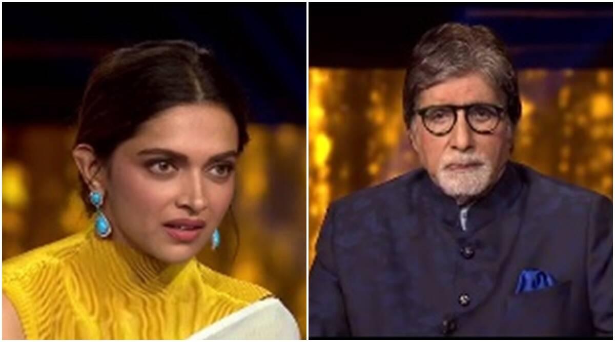 केबीसी 13 में अमिताभ बच्चन ने पूछ लिया ऐसा सवाल भावुक हो गईं दीपिका पादुकोण, जानिए क्या था वो सवाल