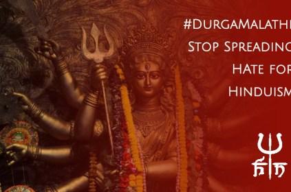 Durga Malathi posts hateful graphics