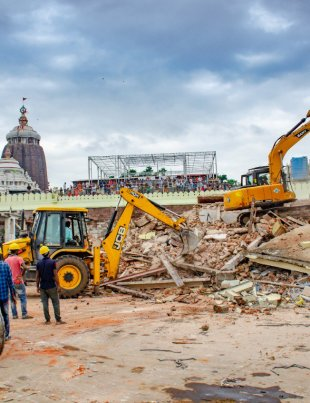 900 Year Old Hindu Temple Demolished