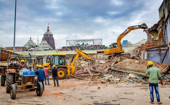 900 Year Old Hindu Temple Demolished