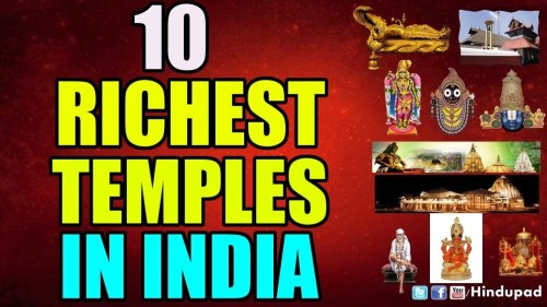 10 Richest Temples in India