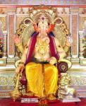 lalbaugcha raja ganesh idol mumbai