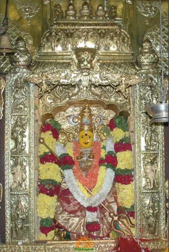 Swarna Khachita Durga Devi