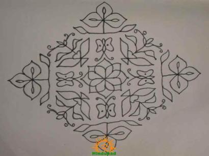 Rangoli Design 6