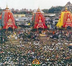 rath yatra in puri jagannath temple
