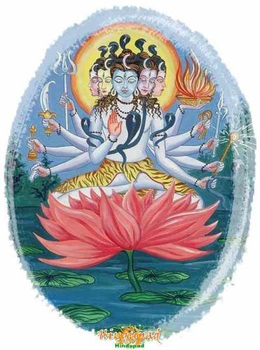 panchamukha shiva